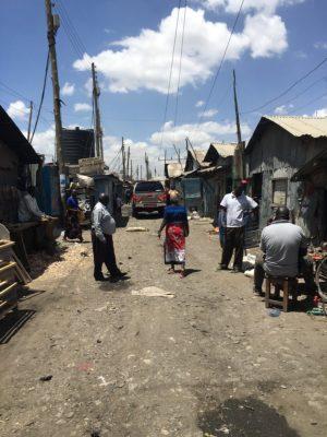 Viwandani community street scene