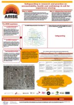 ARISE safeguarding poster