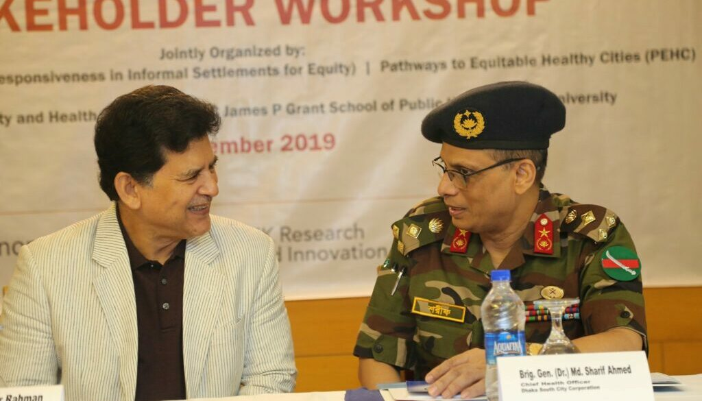 Bangladesh stakeholder workshop