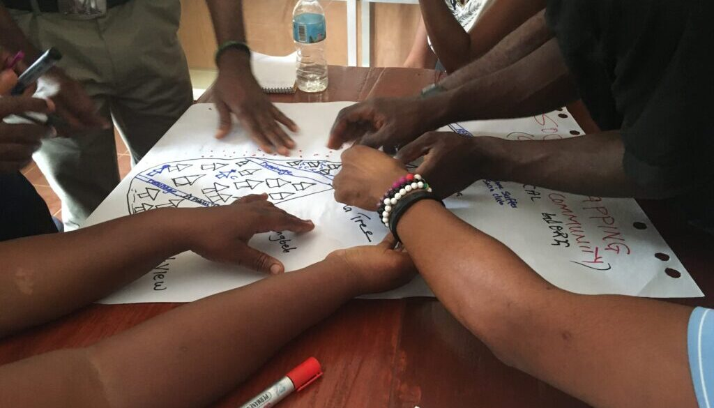 Participatory mapping in Sierra Leone